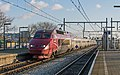Rotterdam Zuid Thalys 4535 als THA 9358 Paris - Amsterdam (16022000897).jpg