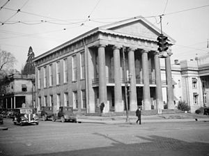 Salisbury, North Carolina - Rowan County Courthouse, Salisbury, 1934