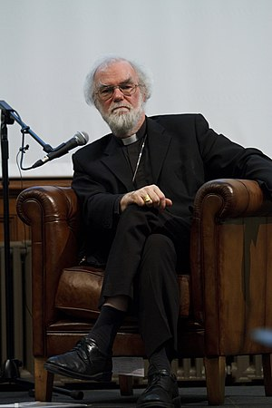 Rowan Williams - Williams visiting the National Assembly for Wales, March 2012