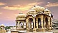 Royal Cenotaphs, Bada Bagh, Jaisalmer (retouched).jpg