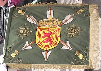 Royal Company of Archers - One of the current standards of the Royal Company of Archers