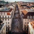 Rua Augusta from the Arco Triunfal (251561723).jpg