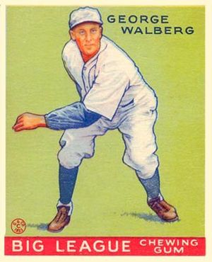 Rube Walberg - Image: Rube Walberg Goudeycard