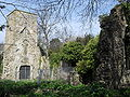 Ruins of Original St Helen's Church, The Ridge, Hastings (IoE Code 293815).jpg