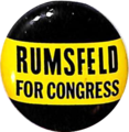 Rumsfeld for Congress button.png