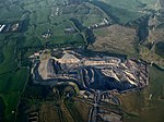 Rusha opencast coal mine from the air (geograph 4009210).jpg