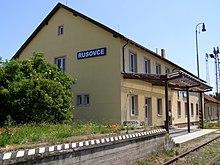 Výpravná budovaželezničnej stanice