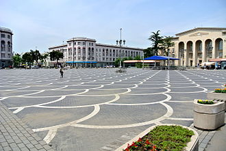 Rustavi - Image: Rustavi Square