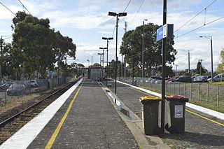 Ruthven railway station railway station in Reservoir, Melbourne, Victoria, Australia