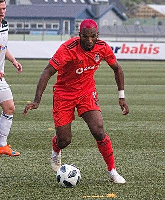 Ryan Babel - Ryan Babel playing for Besiktas in 2018.