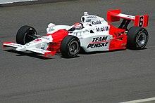 Briscoe alla guida della sua Penske nel 2008