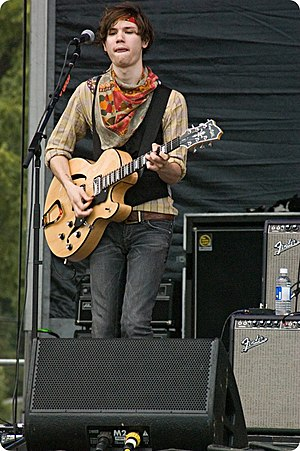 Ryan Ross - Ross performing with Panic! at the Disco, in 2007.