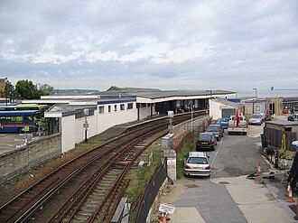 Ryde Esplanade railway station - Image: Ryde interchange