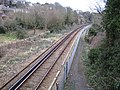 Ryde to Shanklin railway line near Brading - geograph.org.uk - 143557.jpg