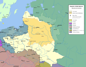 The Polish-Lithuanian Commonwealth after the First Partition (1772)