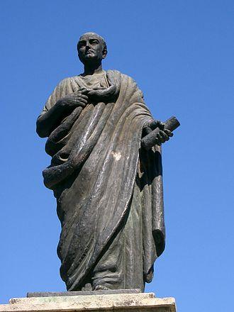 Seneca the Younger - Modern statue of Seneca in Córdoba