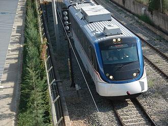 Izmir Adnan Menderes Airport - İZBAN commuter trains connect the airport with İzmir's city center