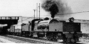 South African Class GD 2-6-2+2-6-2 - Image: SAR Class GD 2222 (2 6 2+2 6 2)