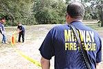 SC Guard douses dangerous flames during training exercise 150310-Z-WS267-001.jpg