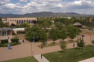 Santa Fe University of Art and Design - Campus with Fogelson Library Center