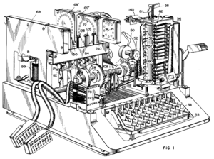 History of cryptography - Image: SIGABA patent
