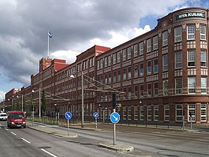 SKF - SKF in Gothenburg.