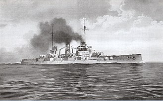 Nassau-class battleship - Image: SMS Nassau illustration