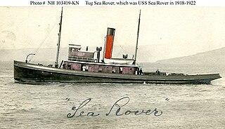 USS <i>Sea Rover</i> (AT-57) Unied States Navy ship