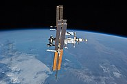 STS-135 final flyaround of ISS 5