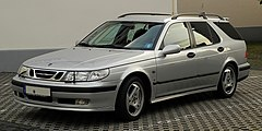 Saab 9-5 SportCombi I przed face liftingiem