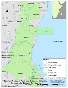 Saadani National Park  Wikipedia