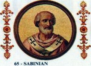 Pope Sabinian - Image: Sabinian