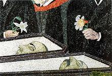 Dettaglio del mosaico
