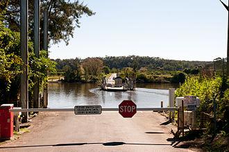 Ebenezer, New South Wales - Sackville ferry going to Ebenezer