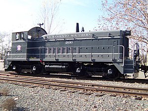 Sacramento Southern Railroad - Image: Sacramento Southern Railroad locomotive No. 2030