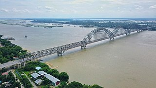 Irrawaddy Bridge bridge in Myanmar