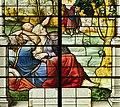 Saint-Chapelle de Vincennes - Baie 1 - L'obscurcissement des astres, détail des personnages (bgw17 0751).jpg