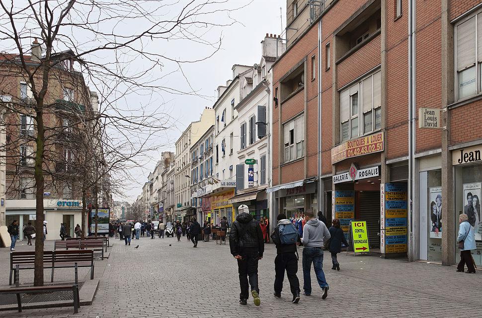Saint-Denis rue Gabriel-Peri