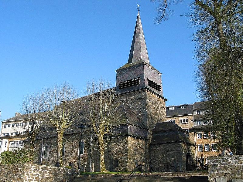 Saint-Hubert, Belgium, the Saint-Gilles-au-Pré church (XIth Century - 1064).