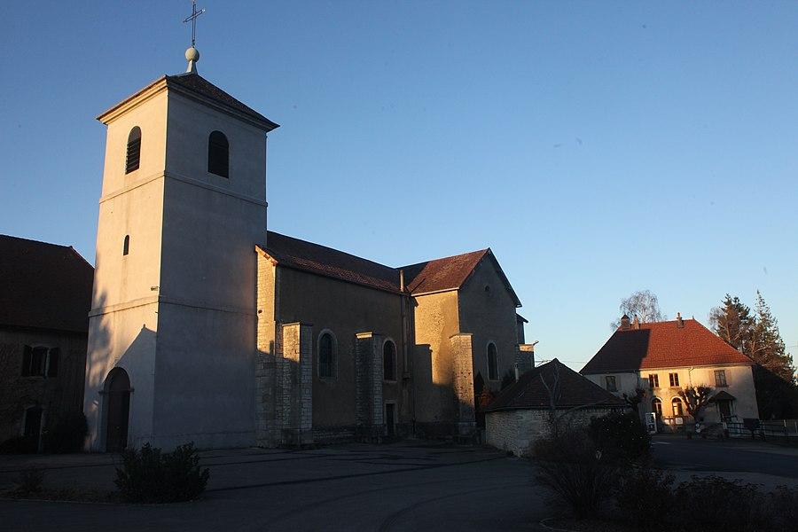 Église de Saint-Juan (Doubs).
