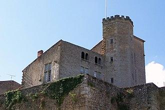 Château de Tardes - Image: Saint Macaire 33 Château de Tardes 03