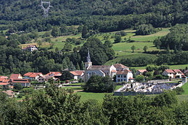 A general view of Saint-Maximin