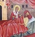 Saint Nicholas Life Scenes 1841 Fresco Simeon Molerov and Dimitar Molerov Rila Monastery 02.jpg