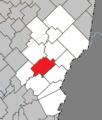 Sainte-Rose-de-Watford Quebec location diagram.png
