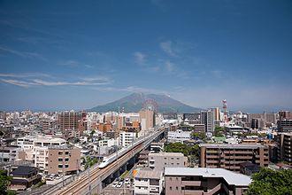 Kagoshima Prefecture - Sakurajima and Kagoshima City