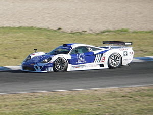 Saleen - Saleen S7R driven by Sascha Bert