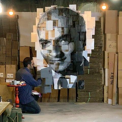 Instalación artística Saleh Sokhandan