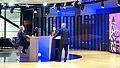 Salima Ghezali et Louis Michel - Émission Bar de l'Europe (2015).JPG