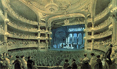 Act 3 scene 2 of Robert (the 'Ballet of the Nuns') at the Paris Opéra (Salle Le Peletier), 1832 (Source: Wikimedia)