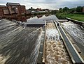 Salmon ladder on Castleford weir River Aire - geograph.org.uk - 929961.jpg